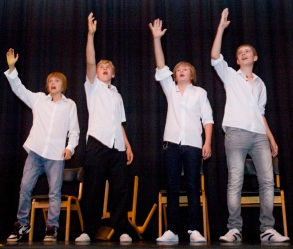 Boys Singing and Dance