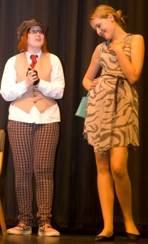 Drama Group 3 Blondie and Izzy